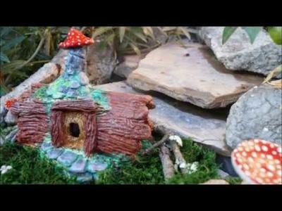 Como hacer una casa de duendes- How to make a gnome house