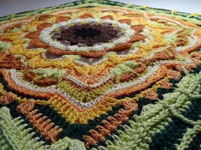 Crochet blanket - Eve's Sunflowers - Part 2