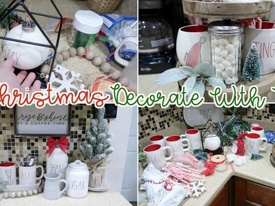 DECORATE WITH ME FOR CHRISTMAS 2018 | RAE DUNN COFFEE STATION & HOT COCOA BAR DIY