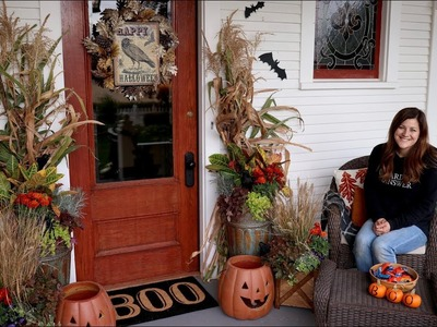 Decorating our front porch for Fall.Halloween! ????????. Garden Answer