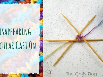 Disappearing Circular Cast On