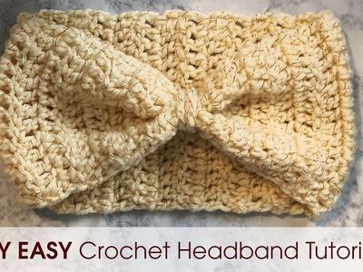 DIY Easy Crochet Headband Tutorial