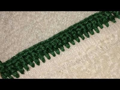 Double Crochet Basic Stitch easy Pattern in hindi. Urdu,indian crochet patterns