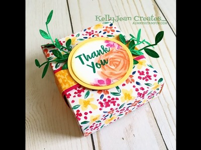 Easiest Gift Box Ever with Kelly Gettelfinger