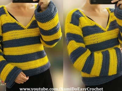 Easy Crochet: Crochet Sweater #04