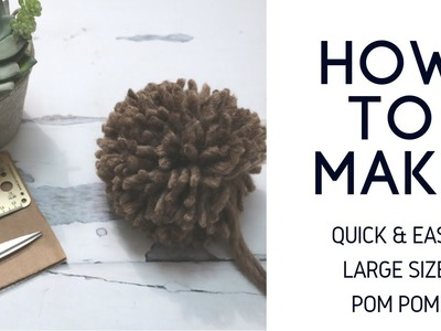 Easy Trimming Tutorial for the Perfect Pom Pom