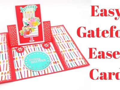 Gatefold Easel Card | Creative Card Series 2018