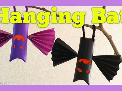 Halloween Craft Activity for Kids: Hanging Bat by ABCmouse.com