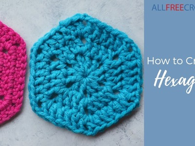 How to Crochet a Hexagon (Granny Square)