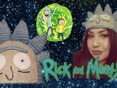How to crochet a rick and morty hat beanie tutorial