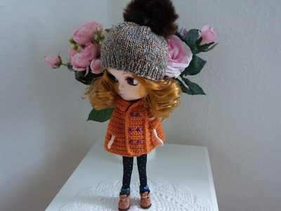 How to crochet doll capes. doll outfit