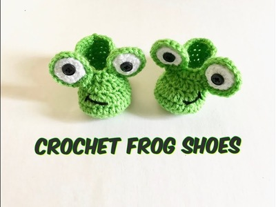 How to Crochet Frog Shoes