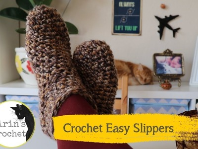 How To Crochet One Hour Slippers