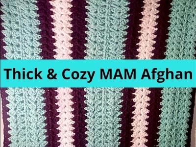 How to Crochet Warm Afghan