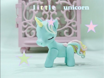 How to make a baby unicorn. Como hacer un unicornio bebe.