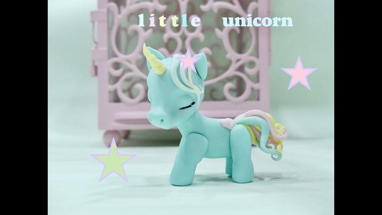 How to make a baby unicorn. Como hacer un unicornio bebe.