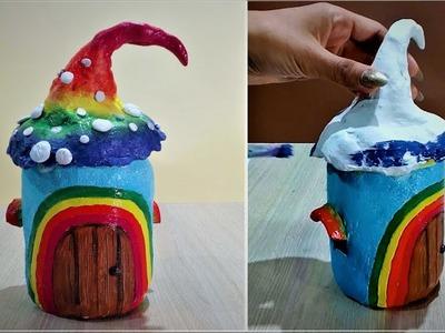 How to make a Rainbow Fairy house