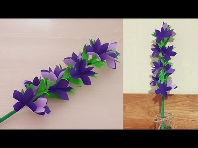 How to Make Easy Paper Flowers - Handmade Craft ldeas - DIY Flower Making