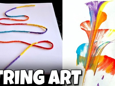 How To Make Sting Art | I Am Kristin ????