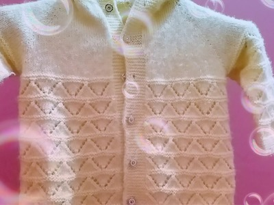 Knit sweater design for kids