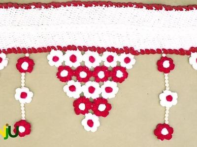 Make crochet toran design | door hanging for your home