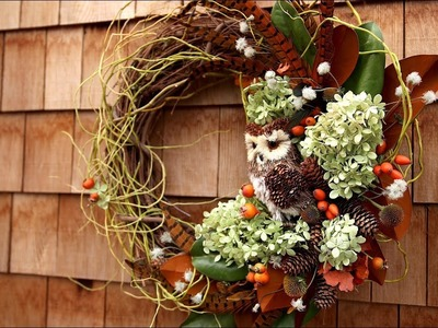 Making a Fall Wreath That Will Last! ????????. Garden Answer