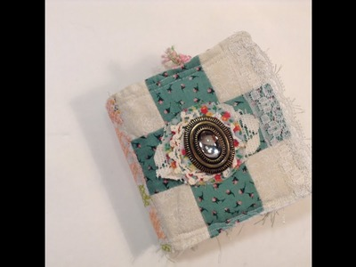 New Tutorial on How to Create a Junk Journal from an Ephemera Journal Kit