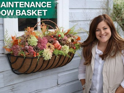 No Maintenance Window Basket. Garden Answer