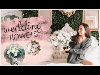 Picking out our wedding flowers| Flowers on a budget | Emelyne