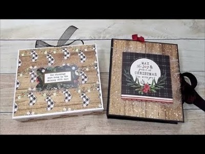 Quick and Easy Christmas Card Holder