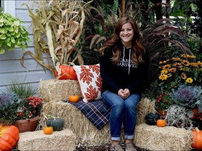 Setting Up a Fall Photo Booth ????. Garden Answer
