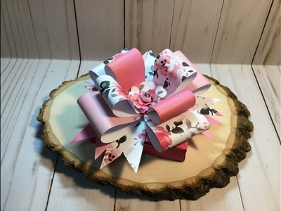 Tutorial Make Aliexpress Big Bow For Your Gift Box Requested