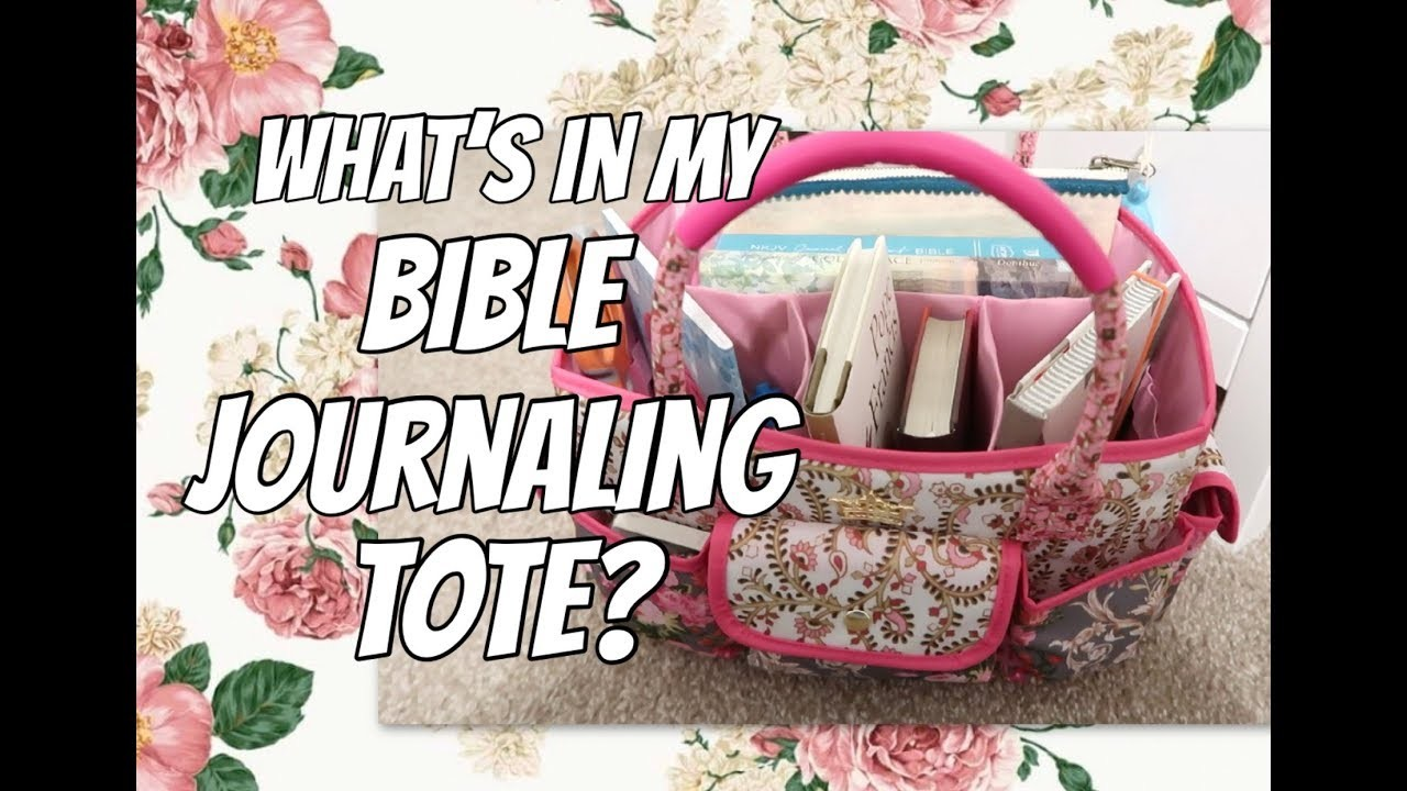 What's in my Bible Journaling Tote? | The Green Notebook
