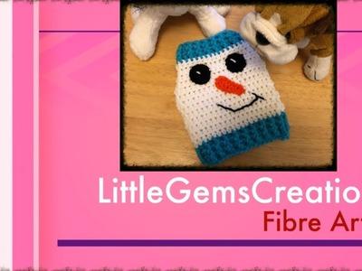 XS Snowman Dog Sweater - Crochet