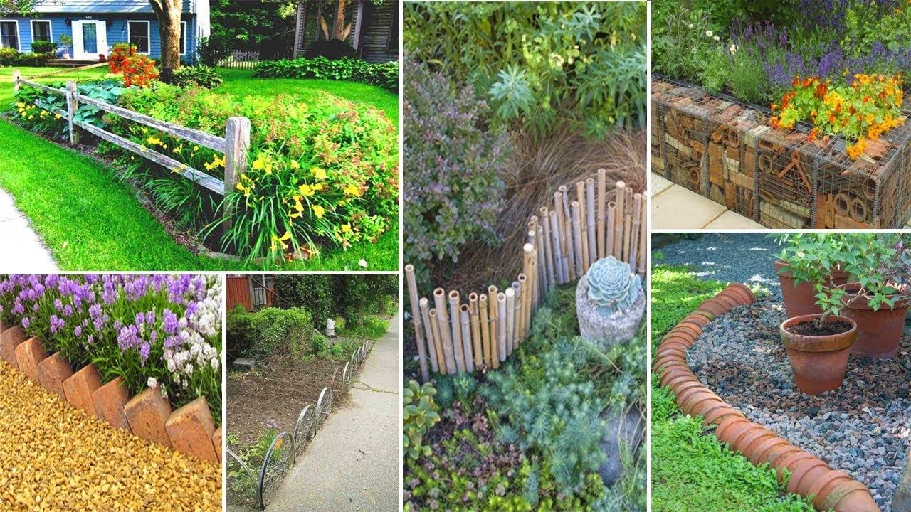 50+ Cheap DIY Edging Ideas, DIY Garden