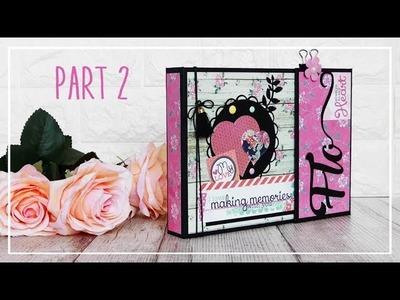 "Album ""My Love"" Scrapbooking PARTE 2.3"