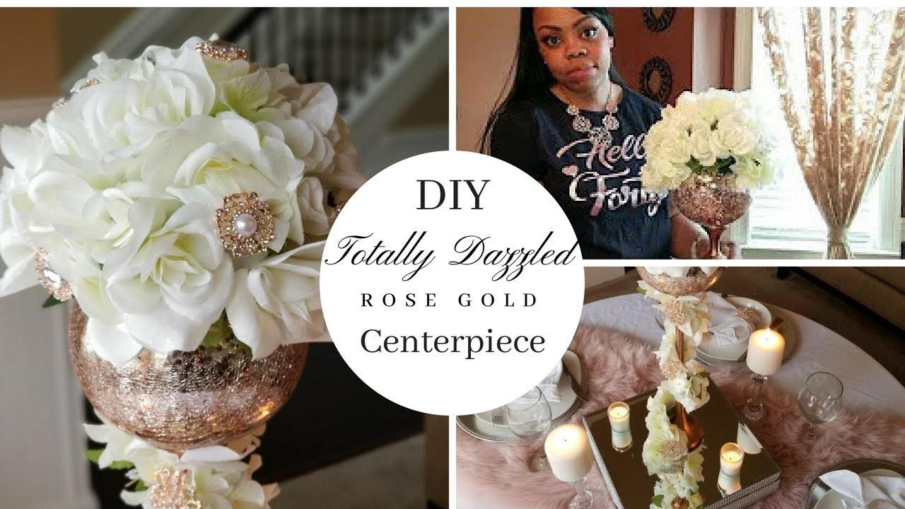 DIY Wedding Centerpiece & Tablescape| Dollar Tree DIY| Totally ...