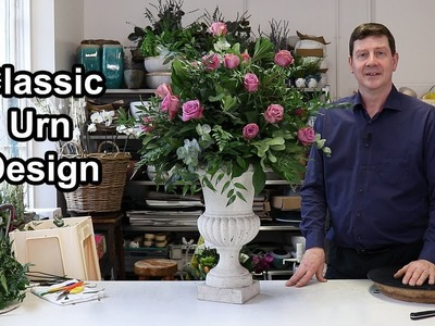 How To Make A Classic All Round Arrangement