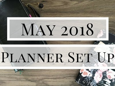 MAY 2018 PLANNER SET UP | PRIMA TRAVELER'S NOTEBOOKS
