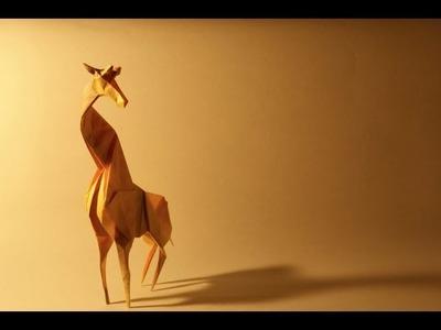 Origami Giraffe By Satoshi Kamiya