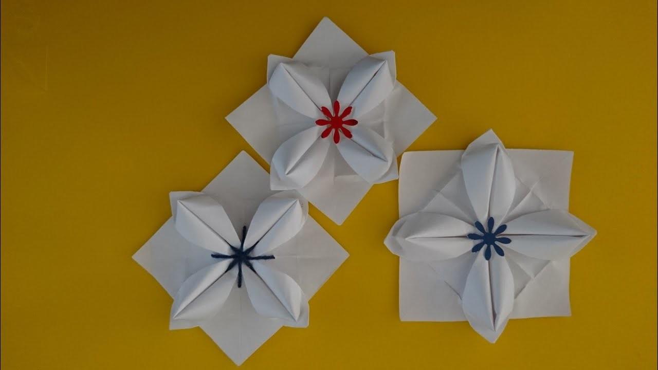 Origami Succulent Flower