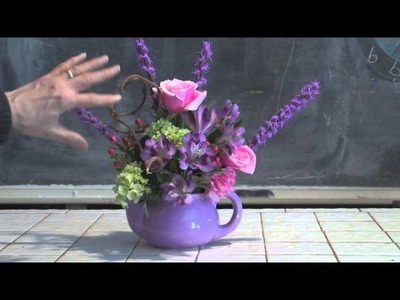 Teapot Florals For Mother's Day