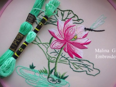EMBROIDERY: STEM STITCH | BORDADO: PUNTO DE TALLO