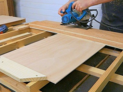 My best trick to cut perfectly identical plywood boards ????