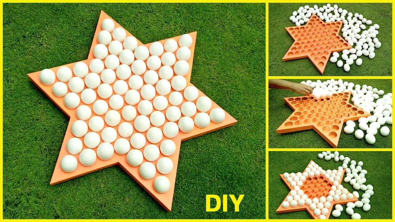 World biggest star egg plate diy craft ideas for Egg tray craft ideas