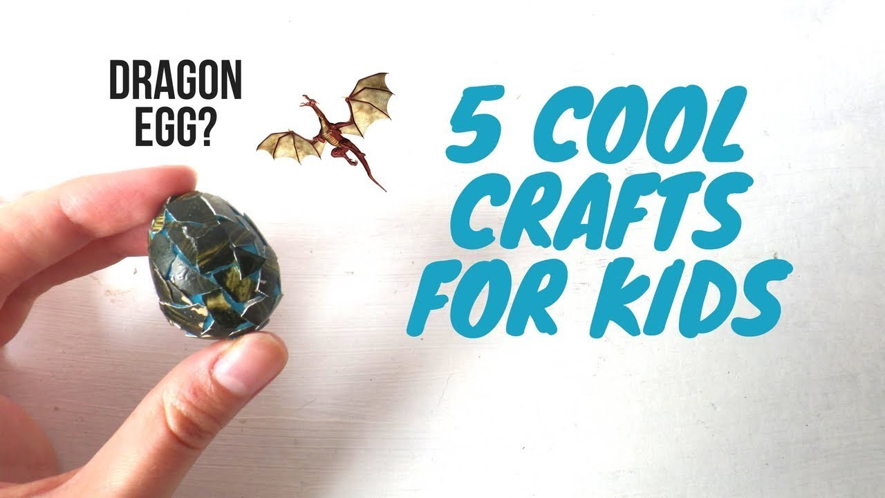 5 Cool Crafts For Kids That Adults Will Also Love Household Items