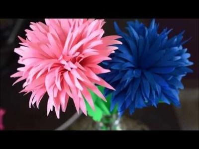 How Make Paper Flower :Flower Paper Craft | DIY -Paper Crafts|
