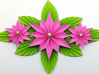 Make Paper Flower for Home Decor - DIY Paper Craft