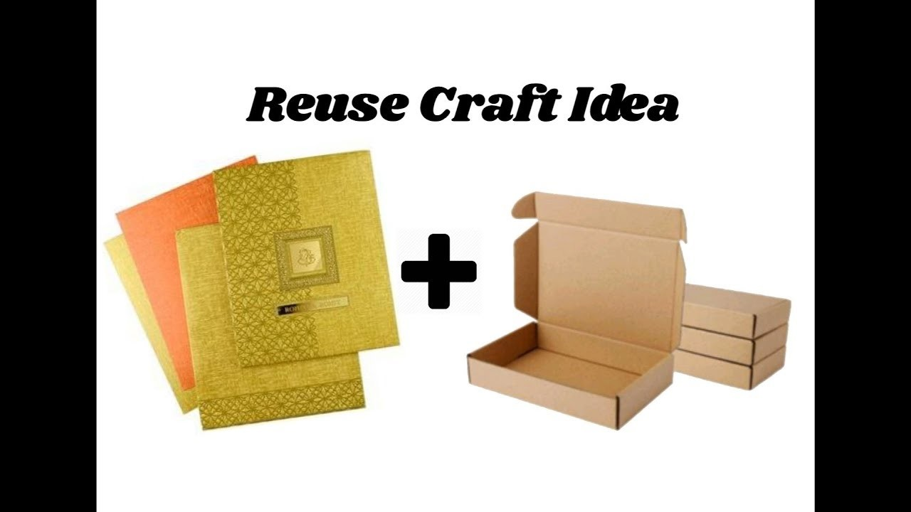 Reuse diy craft idea best out of waste home decor idea for Making craft out of waste