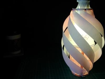 手殘都會做的咖啡杯小燈照  DIY homemade lampshade